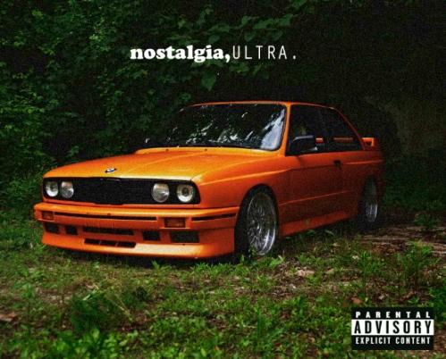 Frank Ocean Nostalgia Ultra Album Cover